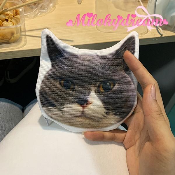 寵物型頭/人型頭散紙包訂製