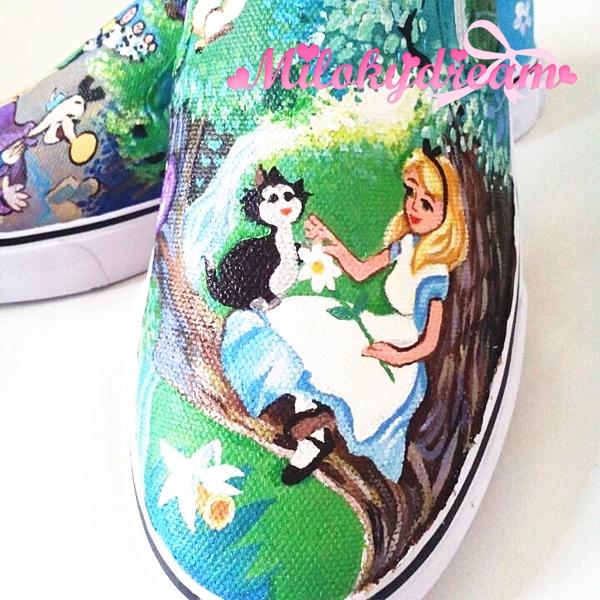 來圖訂做手繪鞋